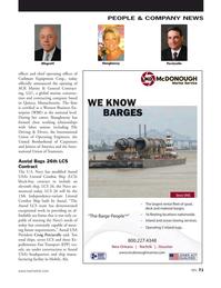 Marine News Magazine, page 71,  May 2016