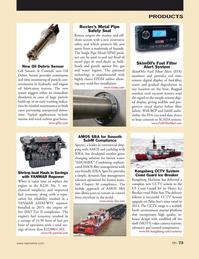 Marine News Magazine, page 73,  May 2016