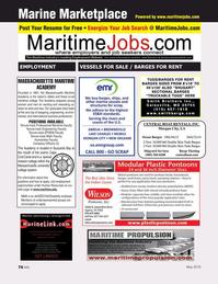 Marine News Magazine, page 76,  May 2016