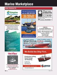 Marine News Magazine, page 78,  May 2016