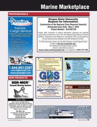 Marine News Magazine, page 79,  May 2016