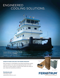 Marine News Magazine, page 4th Cover,  May 2016