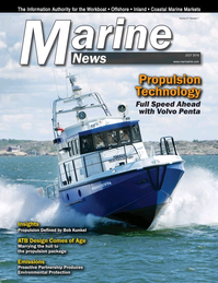 Marine News Magazine Cover Jul 2016 - Propulsion Technology