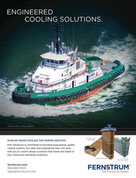 Marine News Magazine, page 4th Cover,  Aug 2016