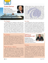 Marine News Magazine, page 14,  Aug 2016