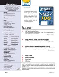 Marine News Magazine, page 4,  Aug 2016