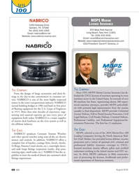 Marine News Magazine, page 68,  Aug 2016
