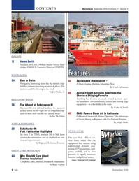 Marine News Magazine, page 2,  Sep 2016