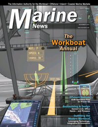 Marine News Magazine Cover Nov 2016 - Workboat Annual