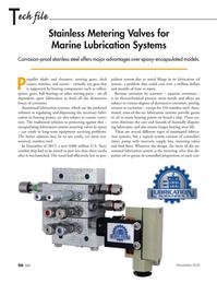 Marine News Magazine, page 50,  Dec 2016