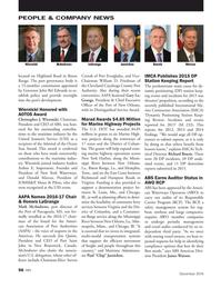 Marine News Magazine, page 56,  Dec 2016