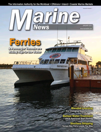 Marine News Magazine Cover Jan 2017 - Passenger Vessels & Ferries