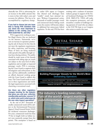 Marine News Magazine, page 15,  Jan 2017