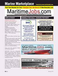 Marine News Magazine, page 60,  Jan 2017