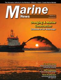 Marine News Magazine Cover Feb 2017 - Dredging & Marine Construction