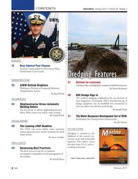 Marine News Magazine, page 2,  Feb 2017