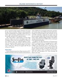 Marine News Magazine, page 34,  May 2017
