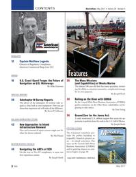 Marine News Magazine, page 2,  May 2017