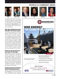 Marine News Magazine, page 55,  May 2017