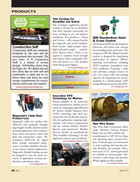 Marine News Magazine, page 58,  May 2017