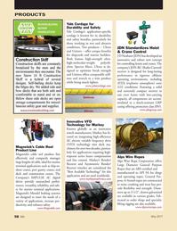 Marine News Magazine, page 58,  May 2017