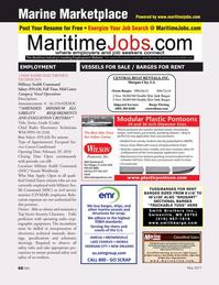 Marine News Magazine, page 60,  May 2017