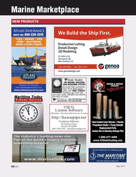 Marine News Magazine, page 62,  May 2017
