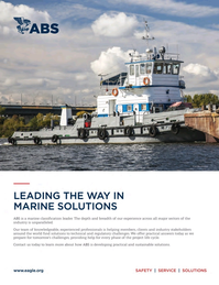 Marine News Magazine, page 3rd Cover,  May 2017