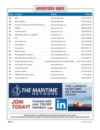 Marine News Magazine, page 64,  Dec 2017