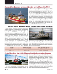 Marine News Magazine, page 50,  Feb 2018