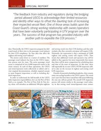 Marine News Magazine, page 24,  May 2018