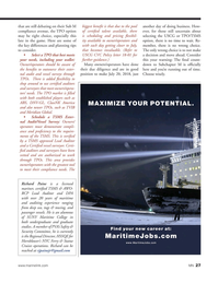 Marine News Magazine, page 27,  May 2018