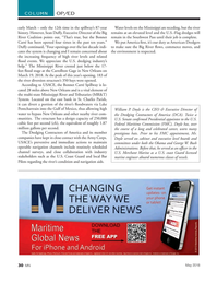 Marine News Magazine, page 30,  May 2018