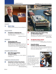 Marine News Magazine, page 2,  May 2018