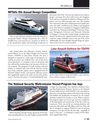 Marine News Magazine, page 65,  May 2018