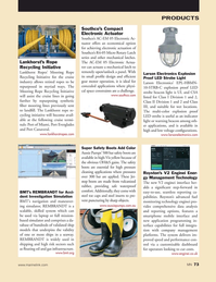 Marine News Magazine, page 73,  May 2018