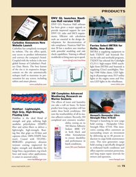 Marine News Magazine, page 75,  May 2018
