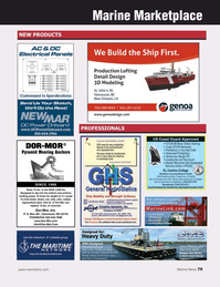 Marine News Magazine, page 79,  May 2018