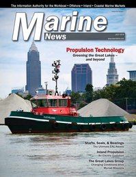 Marine News Magazine Cover Jul 2018 - Propulsion Technology