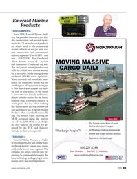 Marine News Magazine, page 83,  Aug 2018