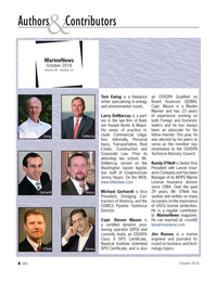 Marine News Magazine, page 8,  Oct 2018