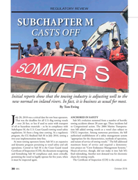 Marine News Magazine, page 30,  Oct 2018