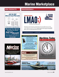 Marine News Magazine, page 63,  Oct 2018
