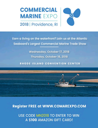 Marine News Magazine, page 3rd Cover,  Oct 2018