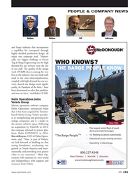 Marine News Magazine, page 101,  Nov 2018