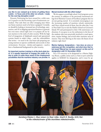 Marine News Magazine, page 18,  Nov 2018