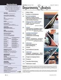 Marine News Magazine, page 4,  Nov 2018