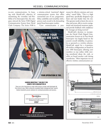 Marine News Magazine, page 64,  Nov 2018