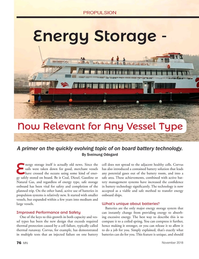Marine News Magazine, page 76,  Nov 2018