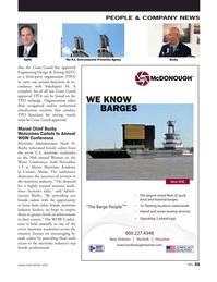 Marine News Magazine, page 55,  Dec 2018